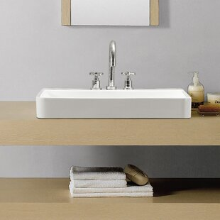 Great choice Ivy Ceramic Rectangular Vessel Bathroom Sink By Swiss Madison