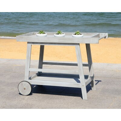 Hugo Indoor/Outdoor Bar Serving Cart by Laurel Foundry Modern Farmhouse Spacial Price