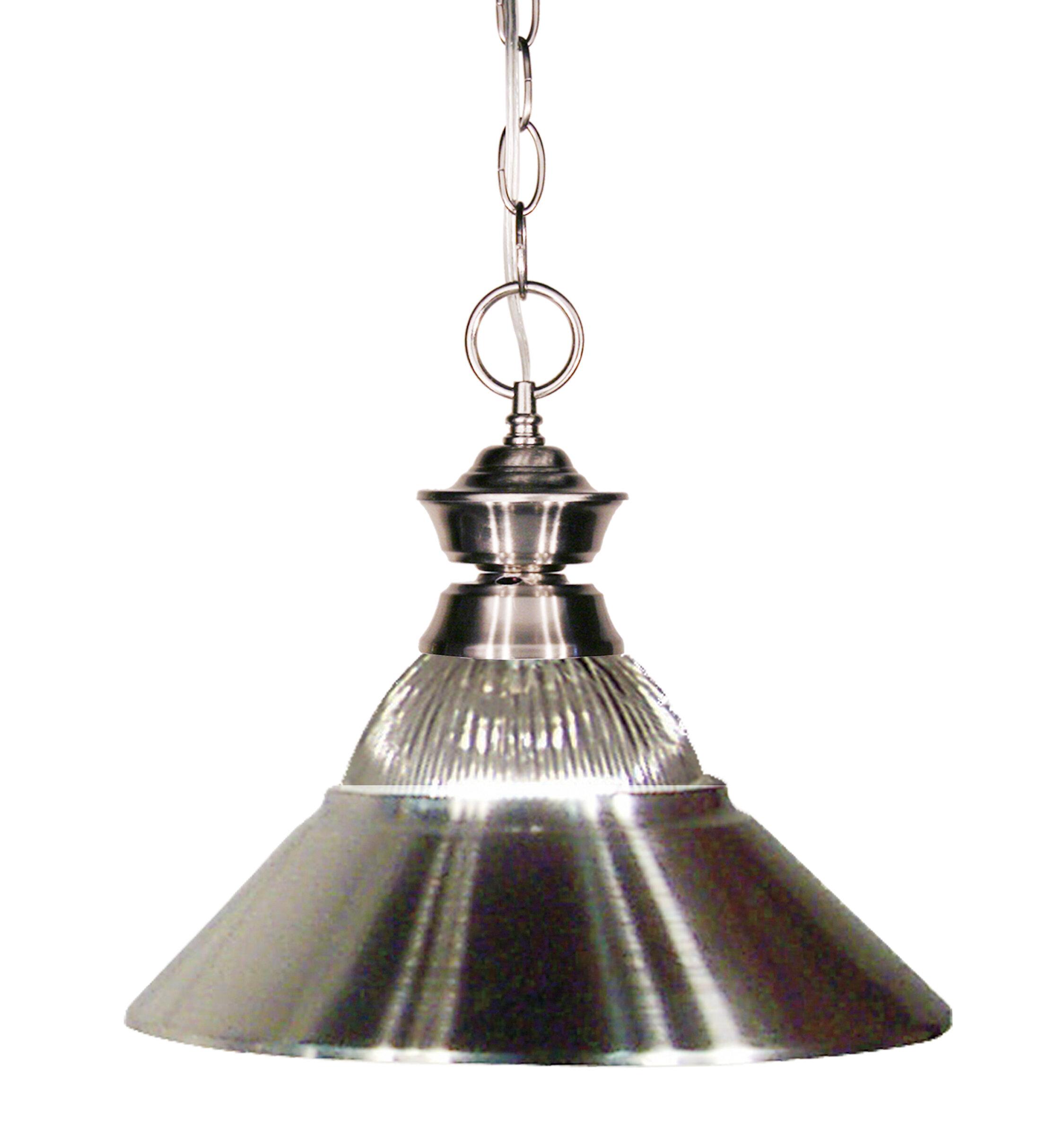 Image of: Winston Porter Whitford 1 Light Single Cone Pendant Wayfair