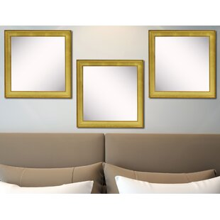 Nikodemos Accent Mirror (Set of 3) By House of Hampton