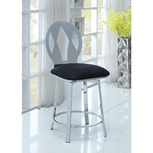 Forster Swivel Bar Stool by Latitude Run
