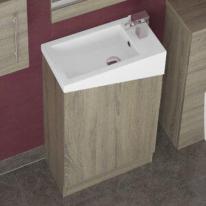 BeModern Bathrooms 50 cm Waschtisch Dakota mit Spiegel