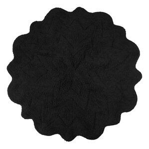Nature Floral Bath Rugs Mats Youll Love Wayfair - Black chenille bath rug for bathroom decorating ideas