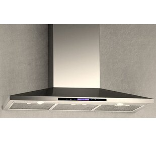 600 CFM Convertible Wall Mount Range Hood by Arda Great Reviews