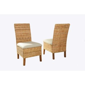 Driftwood Woven Upholstered Dining Chair (Set of 2) by Panama Jack Home