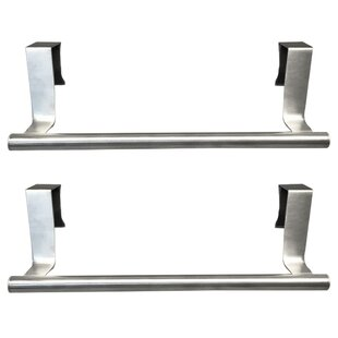 9.1 Mounted Towel Bar (Set of 4) by Evelots