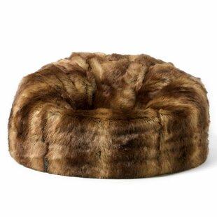 Faux Fur Bean Bag Chair by Rosdorf Park