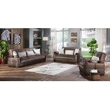 Alorton 3 Piece Sleeper Living Room Set by Orren Ellis