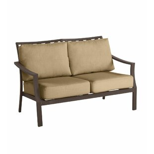 Plow & Hearth Topsail Loveseat with Cushi..