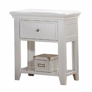 Downham Contemporary Classic 1 Drawer Nightstand by Darby Home Co