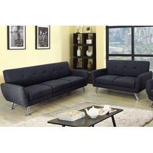 Lindy 2 Piece Living Room Set by Ebern Designs