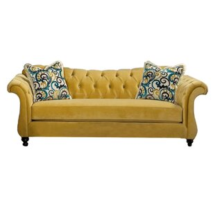 Deals Espinal Royal Chesterfield Sofa by Darby Home Co Reviews (2019) & Buyer's Guide
