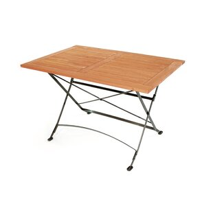 Timothee Folding Galvanised Steel Dining Table Image