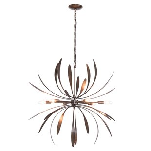 Hubbardton Forge Dahlia 6-Light Sputnik Chandelier