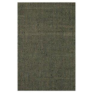 Compare Reiche Hand-Woven Black Area Rug ByRed Barrel Studio