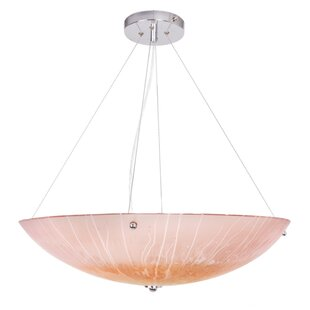 World Menagerie Renfro 3-Light Bowl Pendant