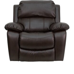 Compare & Buy Personalized Leather Rocker Recliner by Flash Furniture Reviews (2019) & Buyer's Guide