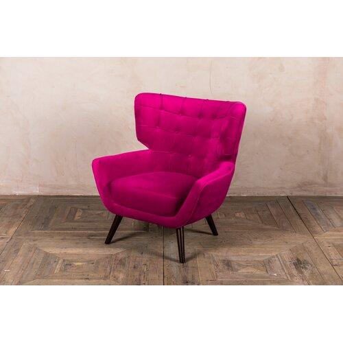 Costilla Swivel Wingback Chair Corrigan Studio Upholstery