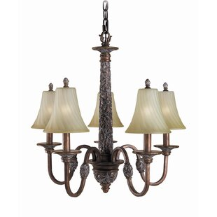 Woodbridge Lighting Vergennes 5-Light Shaded Chandelier