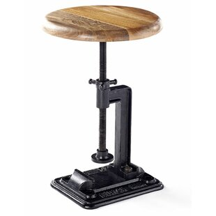 Adelina Height Adjustable Bar Stool By Williston Forge
