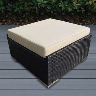 Baril Small Ottoman with Cushion by Wade Logan