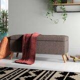 DeMontfort Upholstered Storage Bench by Ebern Designs