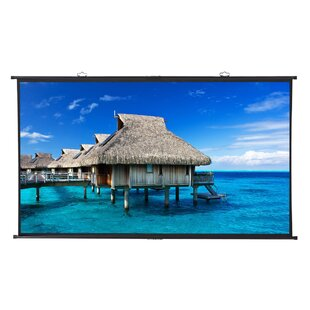 Excelvan White 100 Adhesive Projection Screen by LANGRIA
