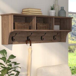 wall hooks birch lane rh birchlane com coat hangers shelf coat hanger shelves for sale