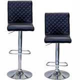 Caterina Series Adjustable Height Swivel Bar Stool (Set of 2) by Orren Ellis