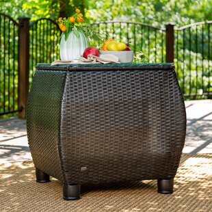 Purchase Breckenridge Resin Wicker Side Table Buying and Reviews