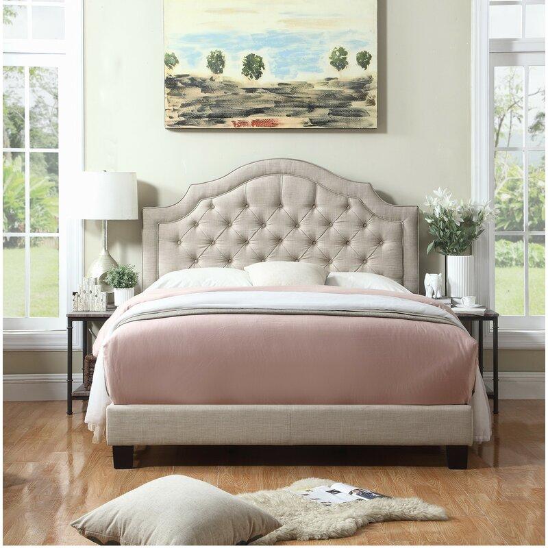 Swanley Upholstered Platform Bed