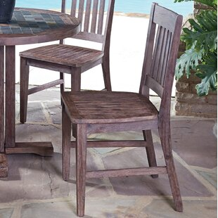 Lakewood Solid Wood Dining Chair (Set of 2) Millwood Pines