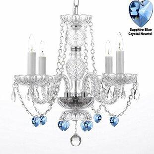 Rosdorf Park Boxwell 4-Light Candle Style Chandelier