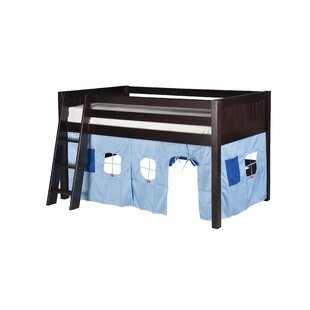 Affordable Oakwood Twin Solid Wood Low Loft Bed by Harriet Bee Reviews (2019) & Buyer's Guide