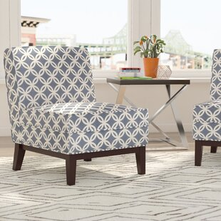 Mayberry Blue Slipper Chair by Brayden Studio