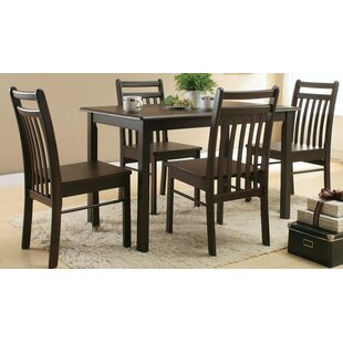 Neligh 5 Piece Dining Set by Winston Porter