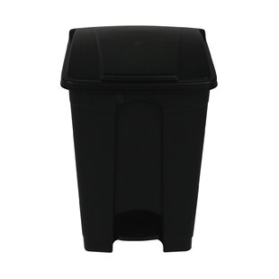 Plastic 12 Gallon Step On Trash Can
