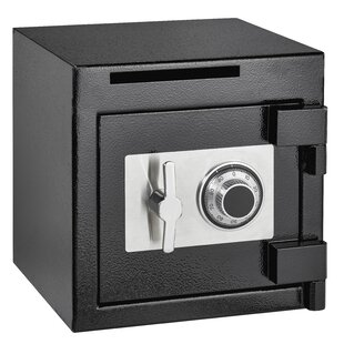 Rugged Compact Safe Box with Dial/Combination Lock by AdirOffice