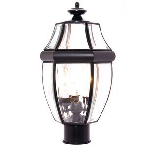 Three Posts Lavergne Creek Outdoor 3-Light Lantern Head