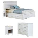 Della Standard 5 Piece Bedroom Set by August Grove