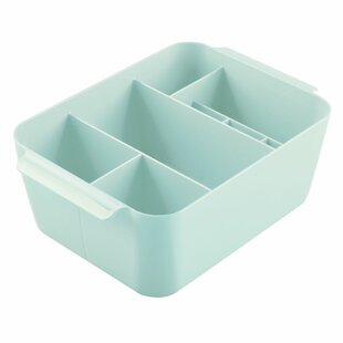 Clarity Divided Bin Cosmetic Organizer By InterDesign