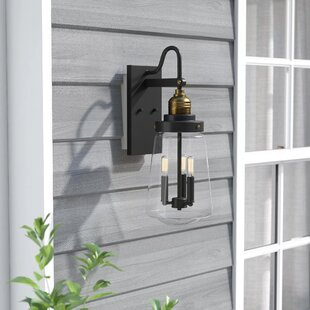 Trent Austin Design Poplar 3-Light LED Outdoor Sconce