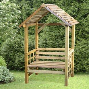 Varney  Wooden Arbour By Sol 72 Outdoor