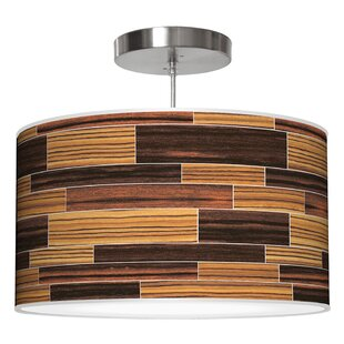 Jef Designs Tile 4 Drum Pendant