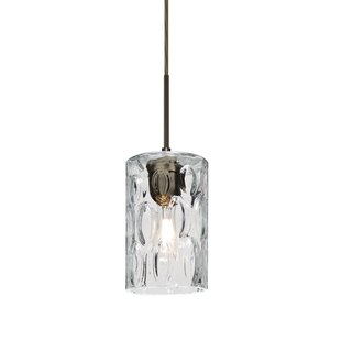 Besa Lighting Cruise 1-Light Cylinder Pendant