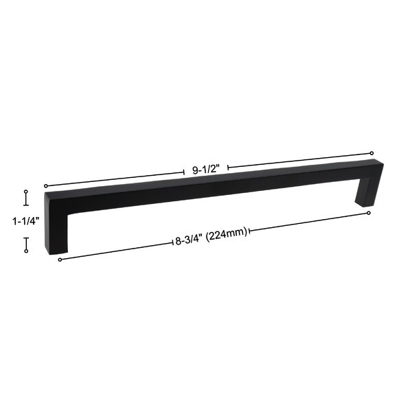 8 3 4 Center To Center Bar Pull Reviews Allmodern
