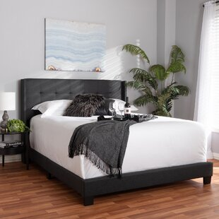Brie Upholstered Panel Bed by Wrought Studio