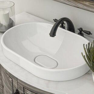 Reviews Primrose Classically Redefined Ceramic Oval Vessel Bathroom Sink By DECOLAV