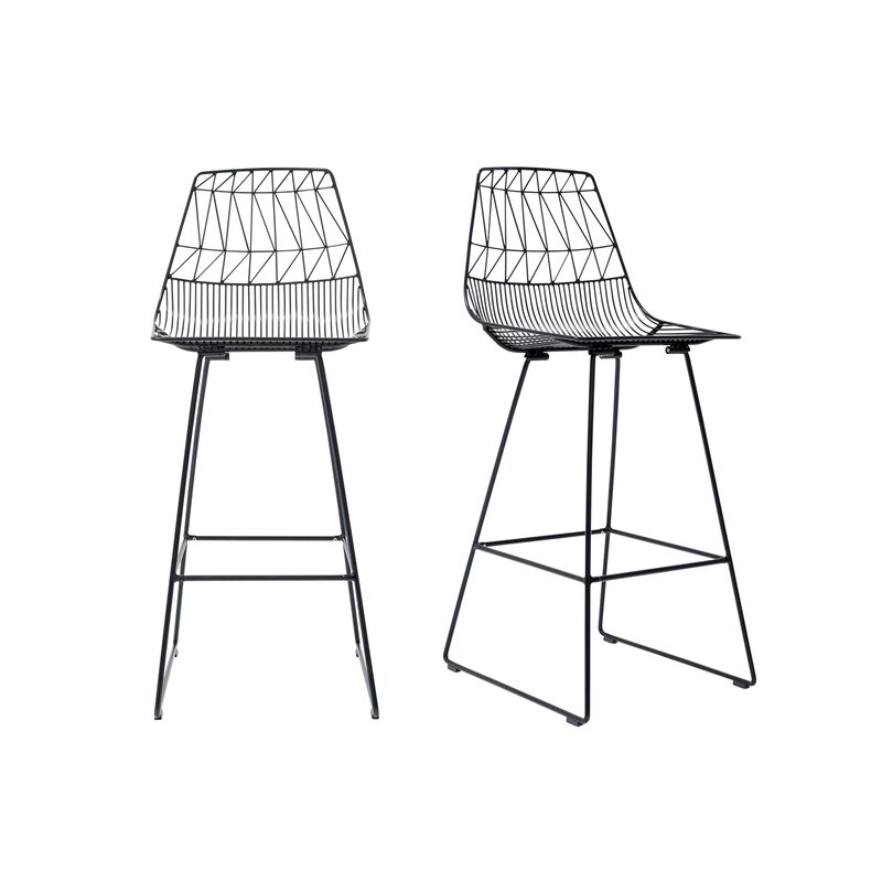 Fine Lucy Bar Counter Stool Creativecarmelina Interior Chair Design Creativecarmelinacom