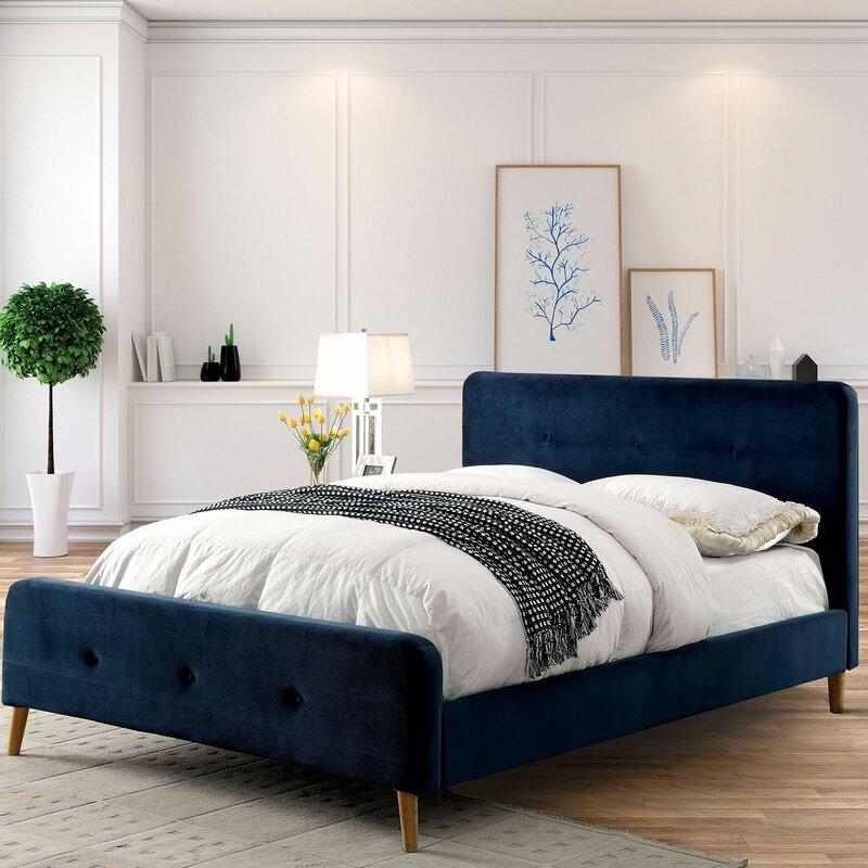 Corrigan Studio Stockport Upholstered Platform Bed Wayfair